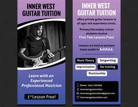 #35 cho Design a flyer for guitar tuition bởi SarahDar