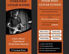 #40 cho Design a flyer for guitar tuition bởi SarahDar