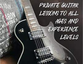#6 for Design a flyer for guitar tuition af RuanDurao
