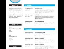 #9 para Redesign Resume / CV (Content Ready) - Only Design Template Needed por asmish