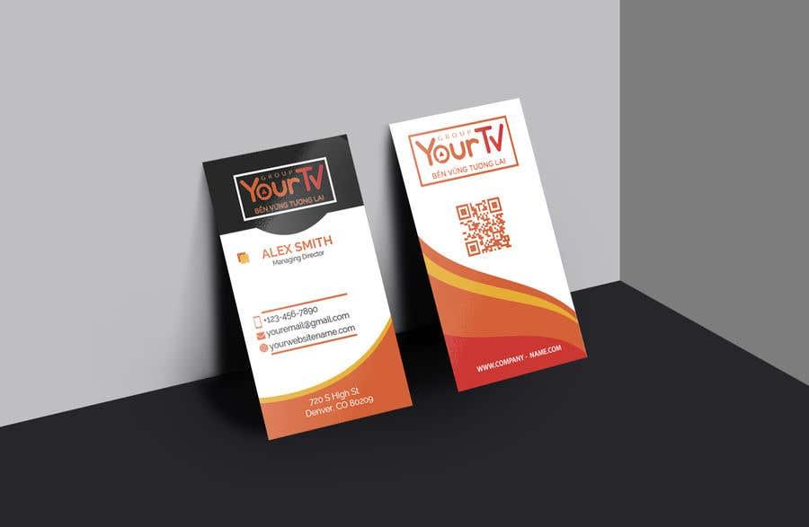 Kilpailutyö #59 kilpailussa Design Namecard YourTV