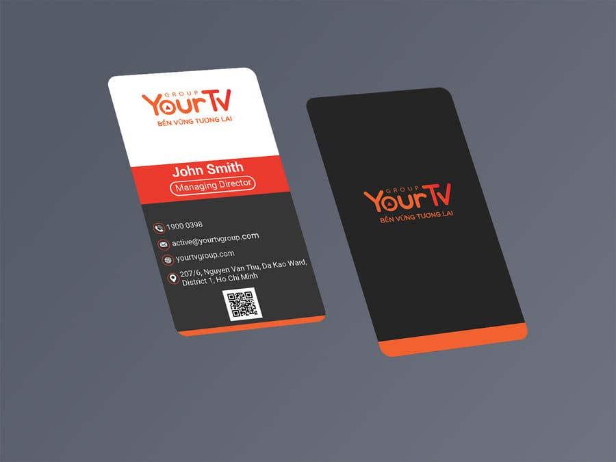 Kilpailutyö #47 kilpailussa Design Namecard YourTV