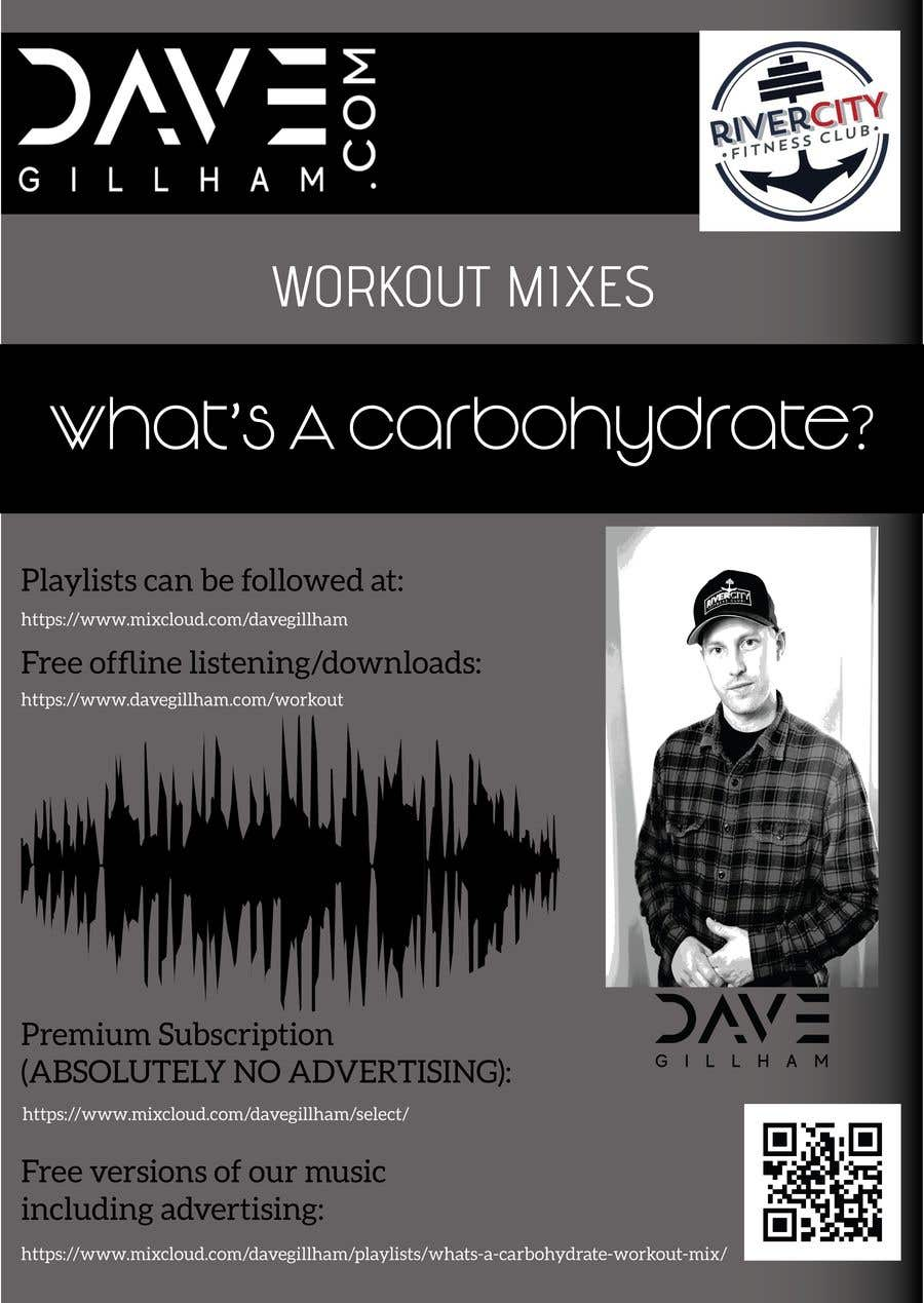 Contest Entry #7 for Gym Playlist \ Work Out Mix advertisement - poster