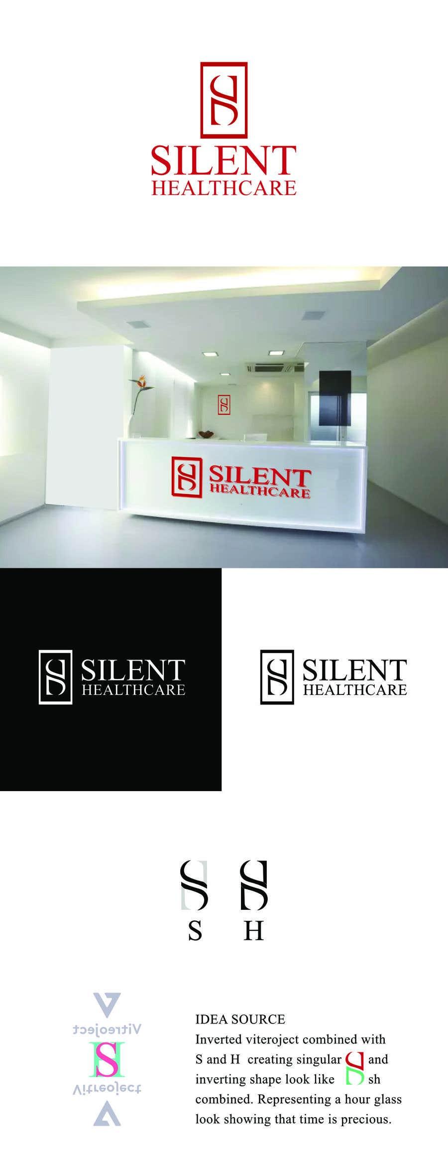 Bài tham dự cuộc thi #229 cho Logo Design for a MedTech company (startup) - Silent Healthcare