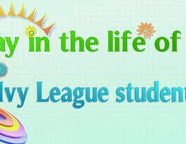 "#5 untuk Seeking beautiful infographic on ""Day in the life of an Ivy League student"" oleh logolx"