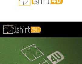 #14 untuk Logo Design for new online tshirt shop - tshirts4u oleh graphics7