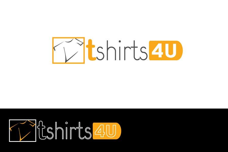 Kilpailutyö #                                        15                                      kilpailussa                                         Logo Design for new online tshirt shop - tshirts4u