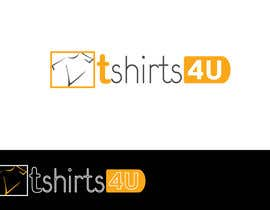 #15 untuk Logo Design for new online tshirt shop - tshirts4u oleh graphics7