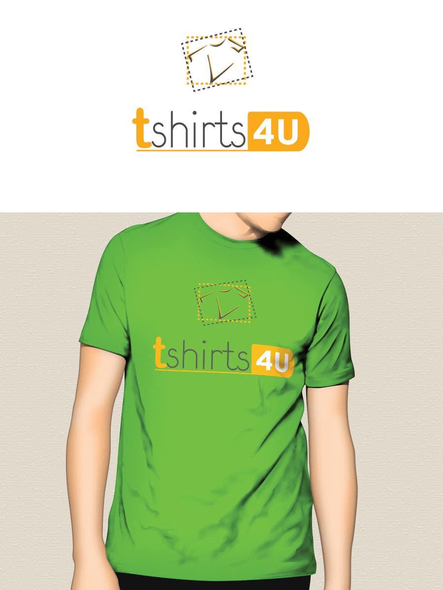 Kilpailutyö #                                        22                                      kilpailussa                                         Logo Design for new online tshirt shop - tshirts4u