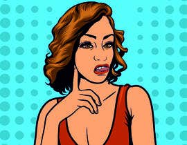 #30 for Need pop art made with clean lines af ligunalatama
