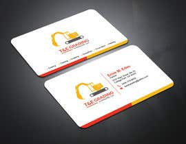 #53 para Lay out a simple business card por abdulmonayem85