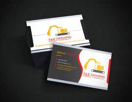 #212 for Lay out a simple business card by taiub