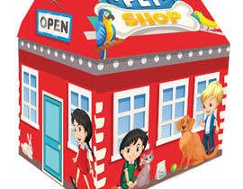 #23 untuk Graphic Design for Kids Tent Houses oleh donov