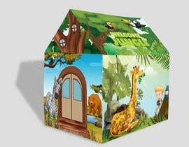 #46 untuk Graphic Design for Kids Tent Houses oleh deyali