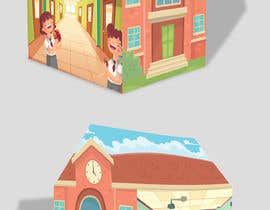 #48 untuk Graphic Design for Kids Tent Houses oleh deyali