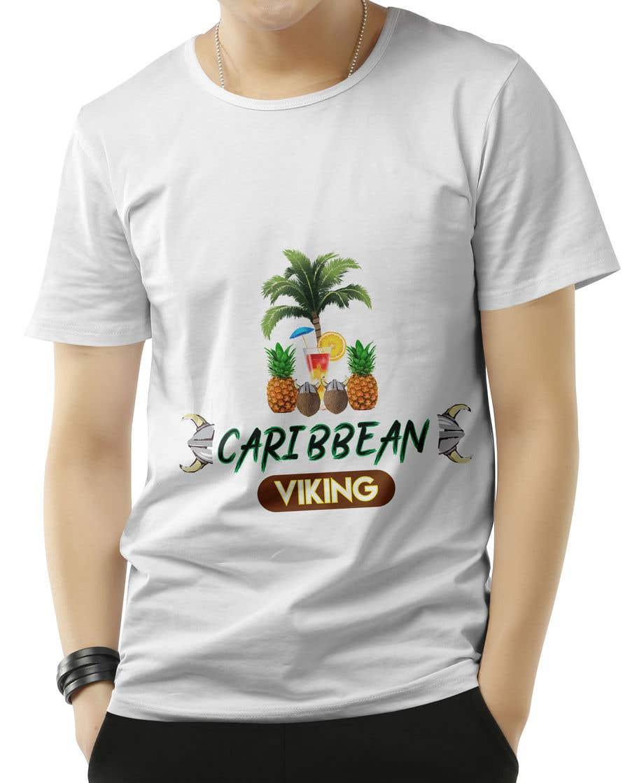 "Penyertaan Peraduan #40 untuk ""Caribbean Viking"" shirt designs"