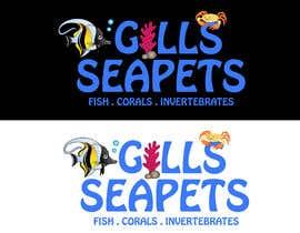 Nro 414 kilpailuun Logo (Gills Seapets) käyttäjältä reshmamanohar19