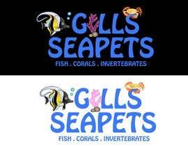 Nro 415 kilpailuun Logo (Gills Seapets) käyttäjältä reshmamanohar19