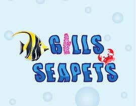 Nro 416 kilpailuun Logo (Gills Seapets) käyttäjältä reshmamanohar19