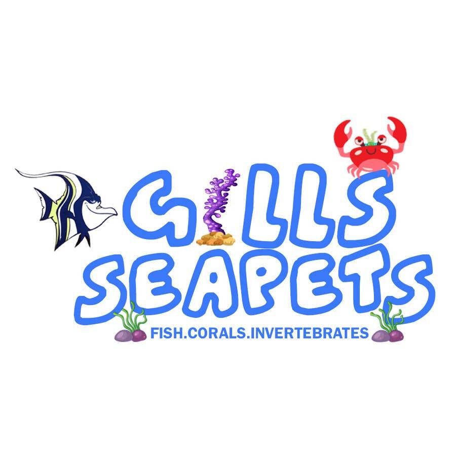 Penyertaan Peraduan #424 untuk Logo (Gills Seapets)