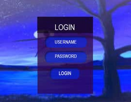 #10 for Background for a login screen of a mobile app by mime04