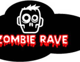 #77 para Logo Design for ZOMBIE RAVE por sergiovc