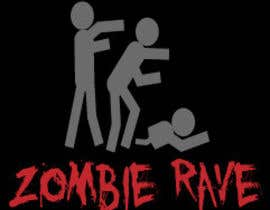 #80 para Logo Design for ZOMBIE RAVE por sergiovc