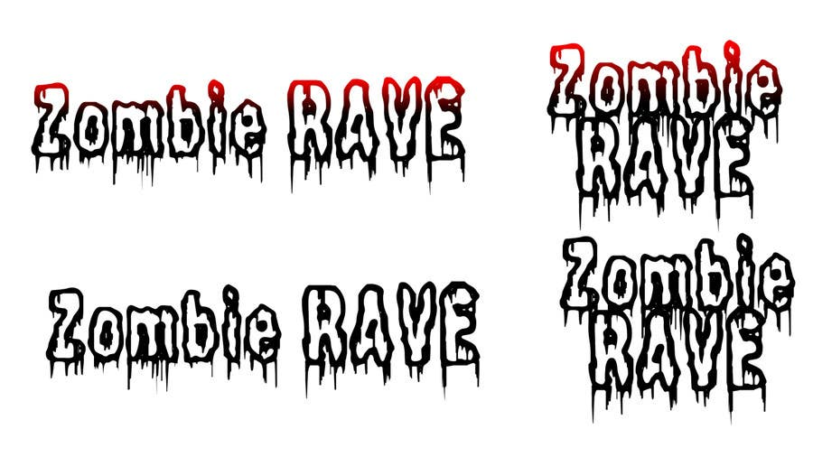Contest Entry #76 for Logo Design for ZOMBIE RAVE