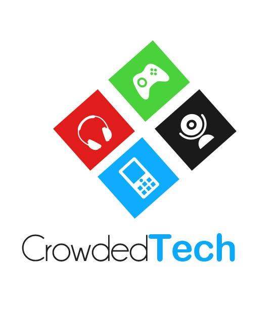Kilpailutyö #76 kilpailussa Logo Design for CrowdedTech