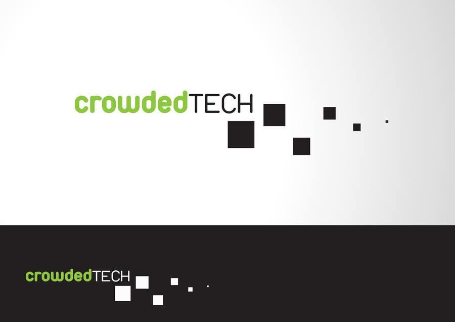 Kilpailutyö #195 kilpailussa Logo Design for CrowdedTech
