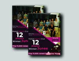 Nro 3 kilpailuun 1 page event poster käyttäjältä anayath2580