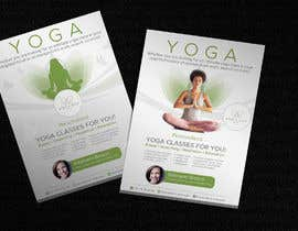 #251 for Dear Freelancer,   I'd like you to use your beautiful creativity and talent to create a marketing POSTER and a FLYER for my YOGA activity which I can easily change the text/objects afterwards.   Those should be inspired and in accordance with my LOGO and  by JewelBluedot