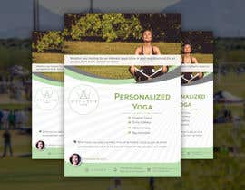 #244 for Dear Freelancer,   I'd like you to use your beautiful creativity and talent to create a marketing POSTER and a FLYER for my YOGA activity which I can easily change the text/objects afterwards.   Those should be inspired and in accordance with my LOGO and  by DesignerSohan