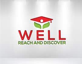 #36 para WELL reach and discover logo por kamalhossainobi7