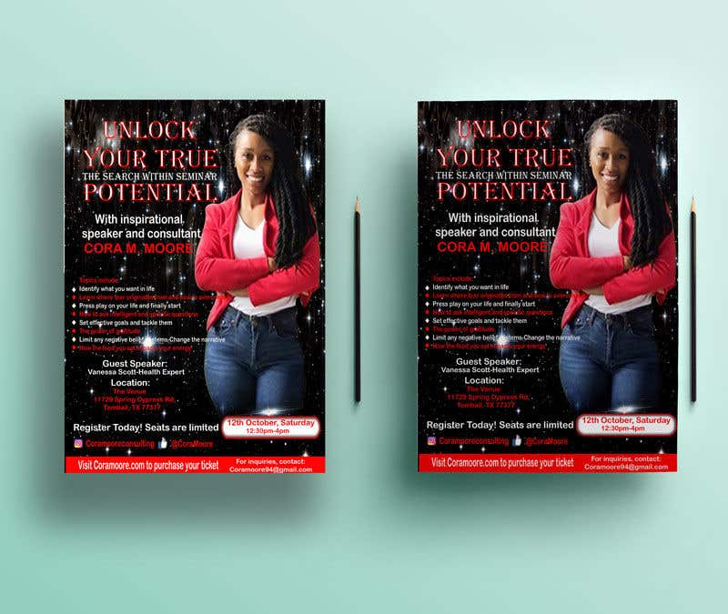 Penyertaan Peraduan #13 untuk Build an Event Flyer