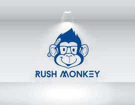 #16 untuk Make for Us a Logo - Rush Monkey oleh logodesign24