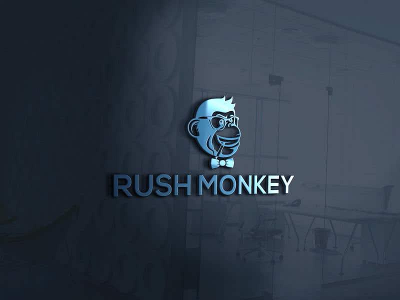 Penyertaan Peraduan #74 untuk Make for Us a Logo - Rush Monkey