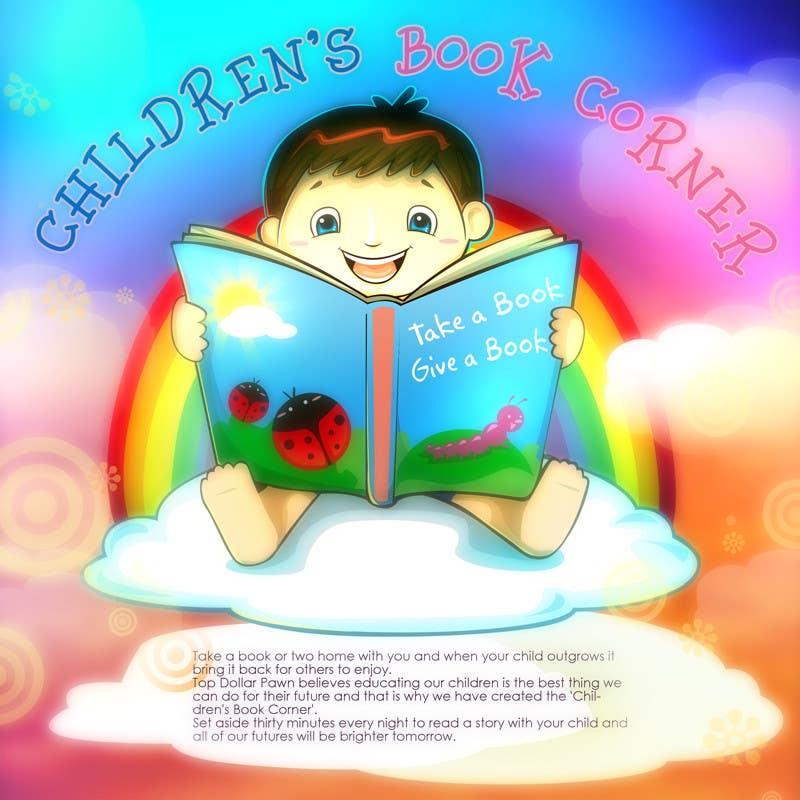 Inscrição nº                                         15                                      do Concurso para                                         Illustration Design for The Children's Book Corner at Top Dollar Pawn