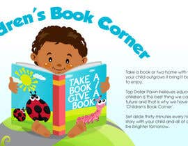 #5 for Illustration Design for The Children's Book Corner at Top Dollar Pawn by egreener