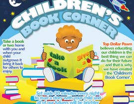 #14 dla Illustration Design for The Children's Book Corner at Top Dollar Pawn przez lifeillustrated