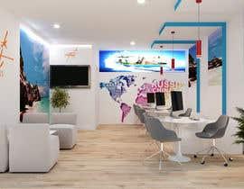 Nro 25 kilpailuun Diseño de interior y exterior de Agencia de Viajes (Interior and exterior design travel agency) käyttäjältä miguelcuamani