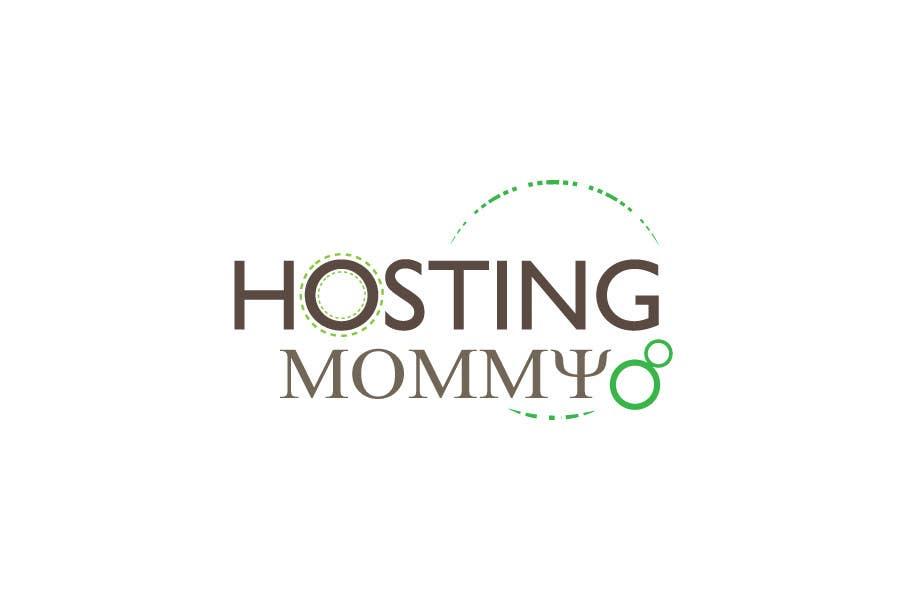 Penyertaan Peraduan #56 untuk Logo Design for Hosting Mommy