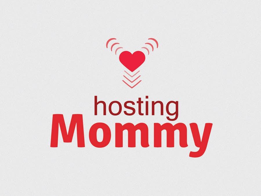 Penyertaan Peraduan #35 untuk Logo Design for Hosting Mommy