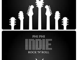 #56 para Logo Design for Phi Phi Indie Rock & Roll por maxindia099