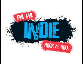 #59 para Logo Design for Phi Phi Indie Rock & Roll por maxindia099