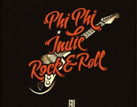 nº 17 pour Logo Design for Phi Phi Indie Rock & Roll par roman230005