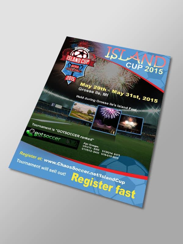 entry 11 by lardher for design a flyer for youth soccer tournament