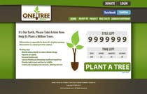 Graphic Design Contest Entry #130 for Website Design for 1 Tree Planted