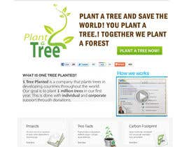 designtechweb님에 의한 Website Design for 1 Tree Planted을(를) 위한 #168
