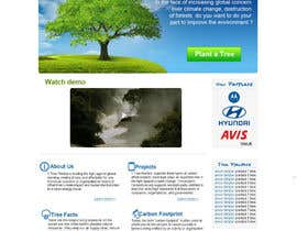 #159 para Website Design for 1 Tree Planted de VIKKISoft
